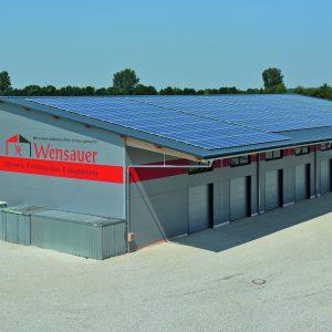 Neubau unserer Produktionshalle