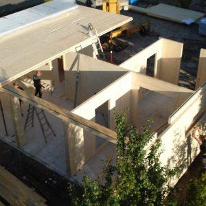 Bürogebäude in Holzbauweise